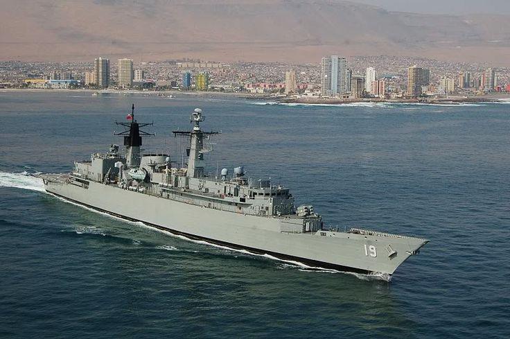 Almirante Williams (FFG-19)  La Fragata Almirante Williams FF-19 (ex HMS Sheffield) es un buque en servicio de la Armada de Chile del tipo 22 batch 2.
