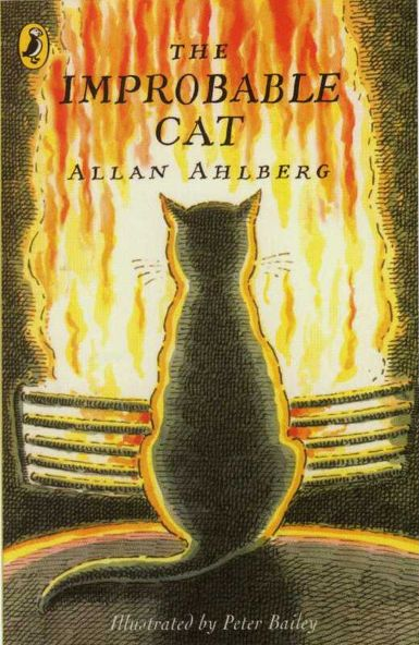 """The Improbable Cat"" by Allan Ahlberg, illustrated by Peter Bailey - Front cover"