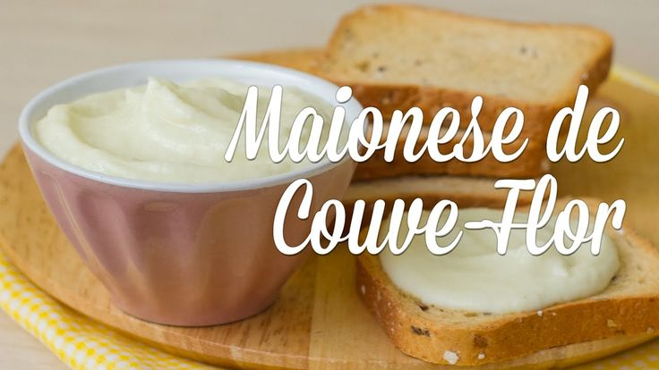 """""""Maionese"""" de Couve-Flor - YouTube"""
