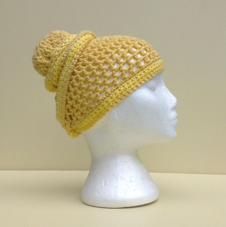 Crochet Tutorial Hat : Mesh Head Wrap Hat Crochet Tutorial Creative Corner Pinterest