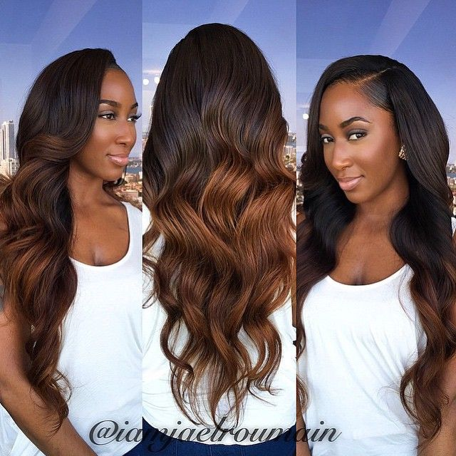 Superb 1000 Ideas About Sew In Hairstyles On Pinterest Sew Ins Sew In Short Hairstyles Gunalazisus