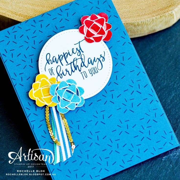 Hello stamping friends! Welcome to a special 'December Birthdays' blog hop! We are Stampin' Up! demonstrators from all over the globe showi...