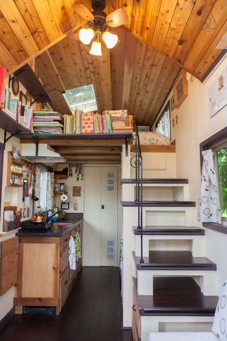 see more images from 10 tiny house interiors that will give you the feels on domino - Tiny House Ideas