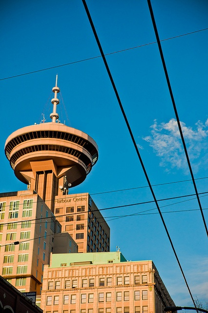 Vancouver Lookout at the Harbour Centre - one of the best views in the city…