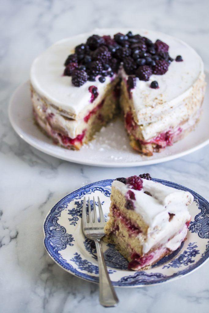 Vegansk och glutenfri tårta - Malins blogg