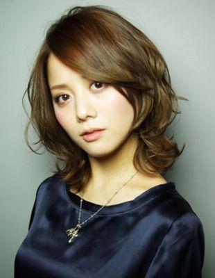 Afrout levia ☆ diamond silhouette's medium hair | Shinjuku's hairdresser AFLOAT RUVUA's hairstyle | Rasysa (Rashisha)