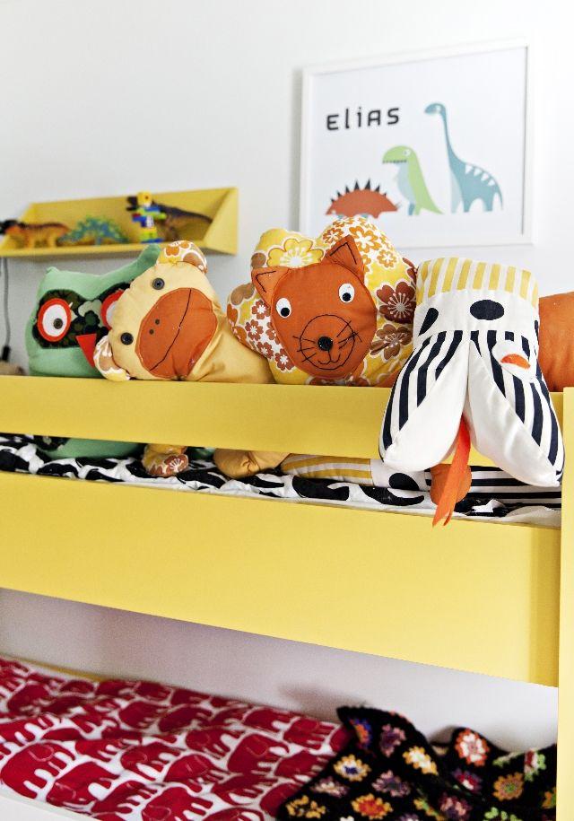 Lastenhuone Peppi Pitkätossun tyyliin. Childrens room in Pippi Longstockings style. | Unelmien Talo&Koti Kuva: Camilla Hynynen Toimittaja: Jaana Tapio
