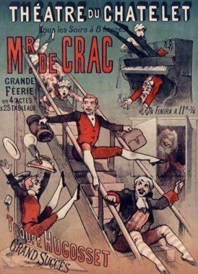 Le Théâtre du Châtelet à Paris