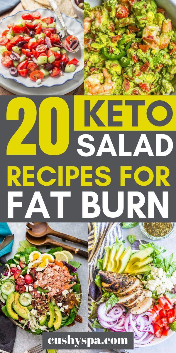 20 Keto Salad Recipes for Fat Burn