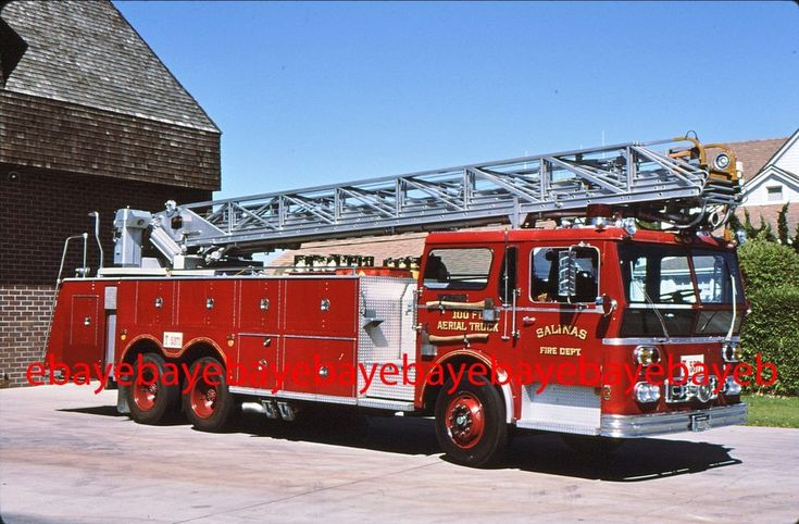 Fire Apparatus Slide, Truck 71, Salinas / CA, 1978 Ward LaFrance / Maxim