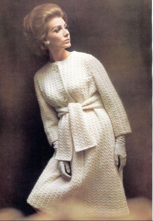 Haute Couture Vivant Knit Coat Pattern
