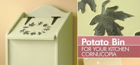 DIY Potato Bin: Diy Potatoes, Abondance, Bins Plans, Corne, Roots Vegetables, Potatoes Vegetables Bins, Potatoes Bins, Homemade Potatoes, Bins Tutorials