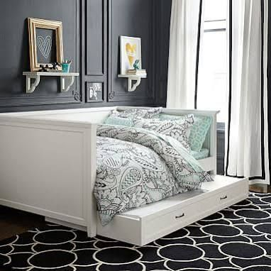would a daybed andor chaise fit along with my desk in the office full size daybedbed with