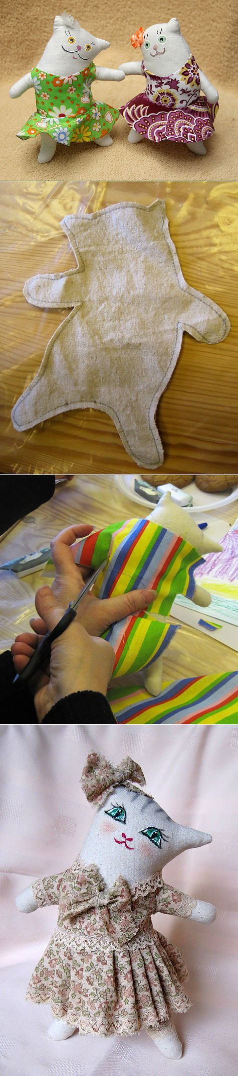 Master Class Liana Vengerovsky to create textile seals.   Toys   post