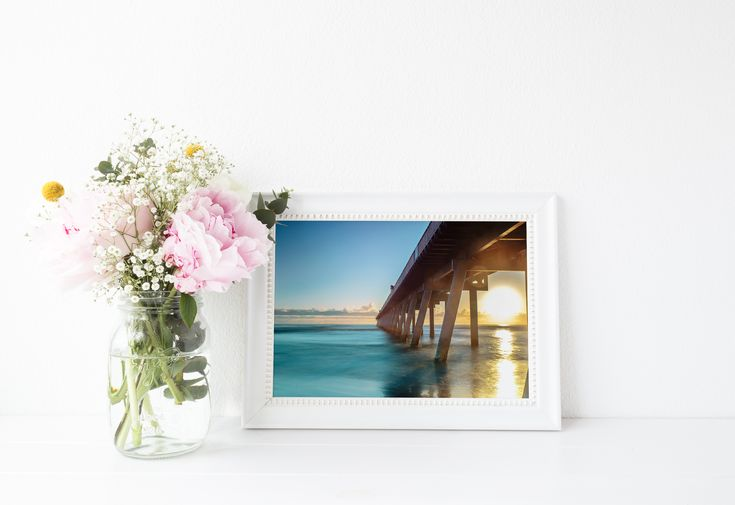 Visit my Esty store to see what other prints are available. Seascape Ocean Gold Coast Jetty Sunrise Landscape Photography
