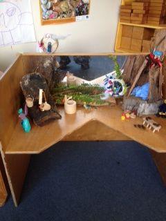 Fairy house built by children