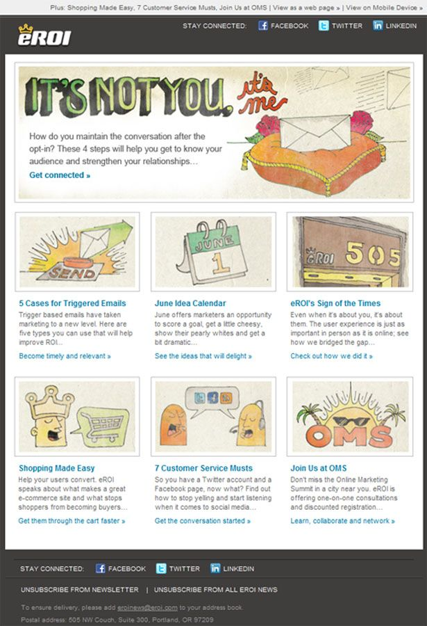 17 Best images about Email Newsletter Design on Pinterest ...