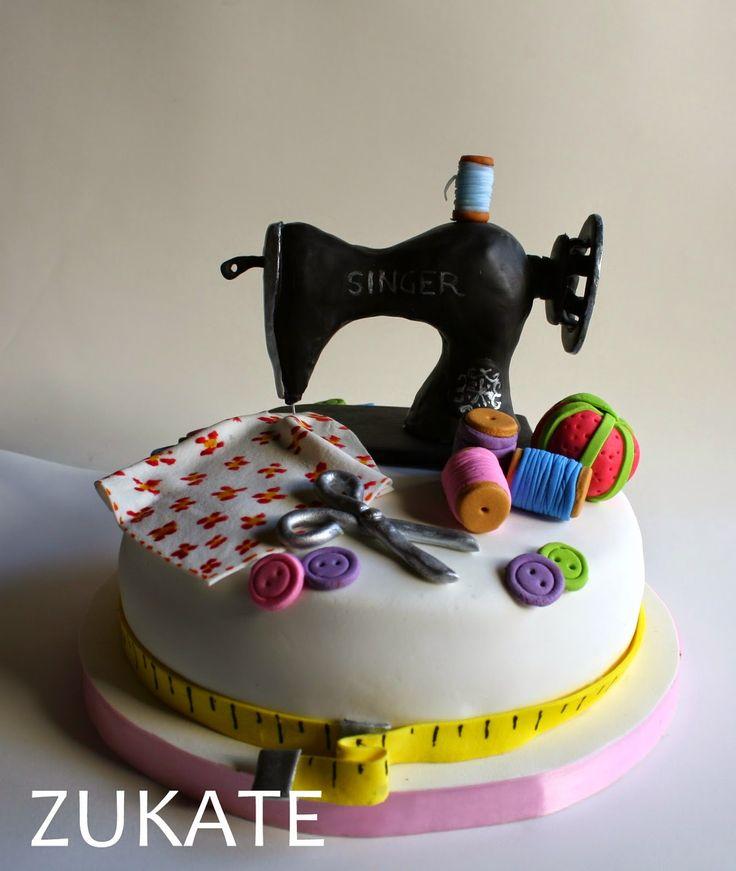 tortas decoradas para costureras - Buscar con Google