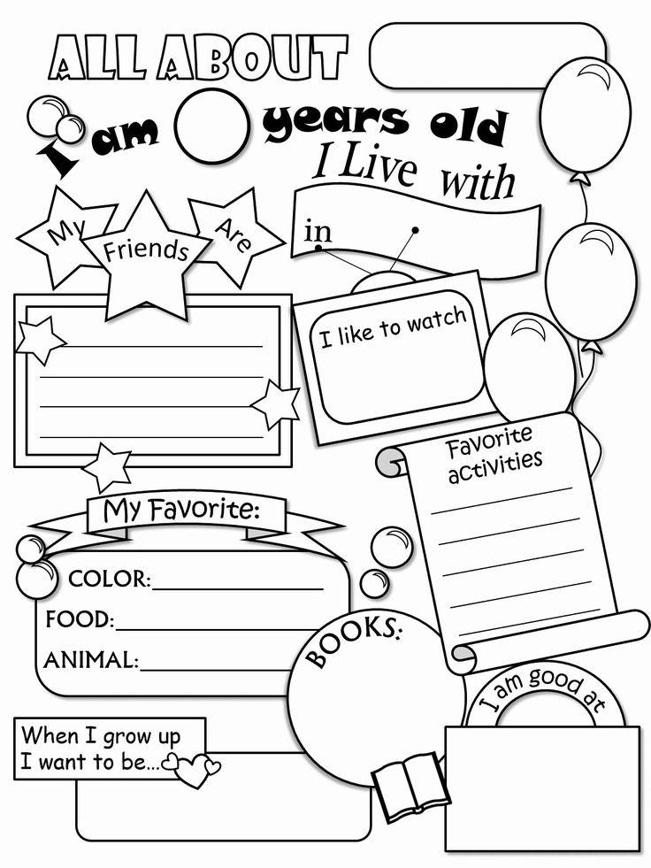 Kindergarten Worksheets for Grade 4 Year Olds in 2020 ...