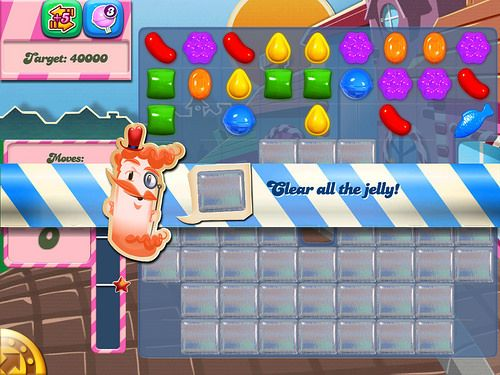Candy Crush Saga Tutorial: screenshots, UI