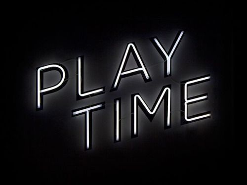 Play Time #neon
