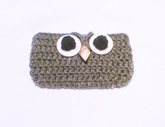 Hey, I found this really awesome Etsy listing at https://www.etsy.com/listing/228991998/owl-cell-phone-case-crochet-owl