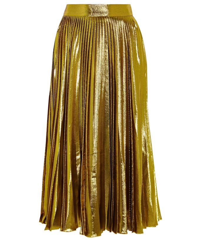 9 Reasons to Shop Spring's Pleated Skirts - Gucci  from InStyle.com