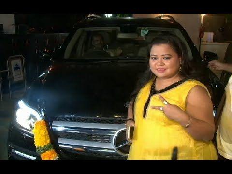 Bharti Singh in her NEW MERCEDES-BENZ.