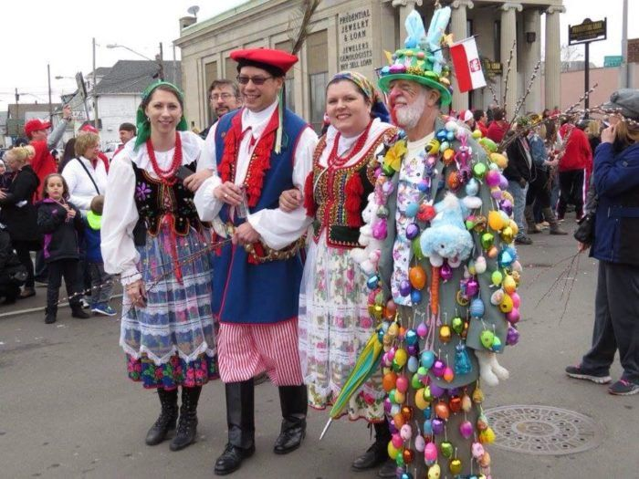 7. Celebrate Dyngus Day to the extreme.