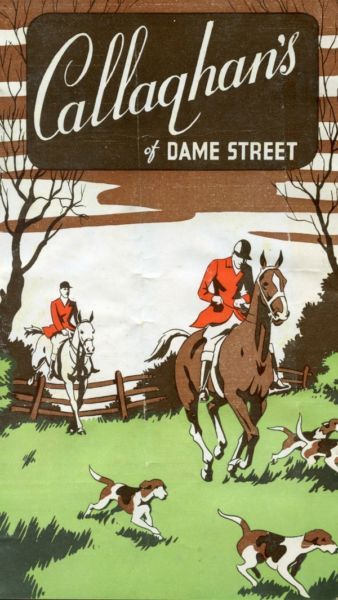1950s CALLAGHAN of Dame Street DUBLIN IRELAND Country Equestrian Catalog HORSES
