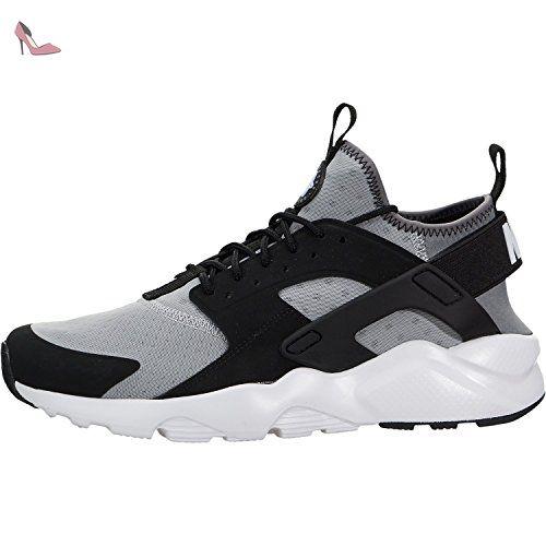 Nike Air Huarache Run Ultra, Chaussures de Running Entrainement Homme, Gris (Gris (Wolf Grey/White-Black-Cool Grey), 44 EU - Chaussures nike (*Partner-Link)