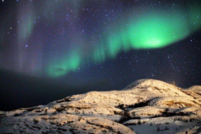 aurores boréales en Norvège - blog voyage Travel Me Happy