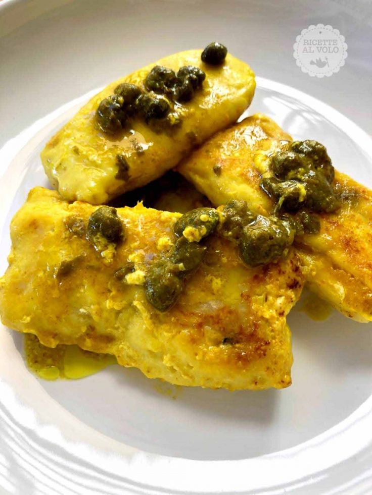 Photo of Cod fillets with turmeric and capers – Recipes in Flight