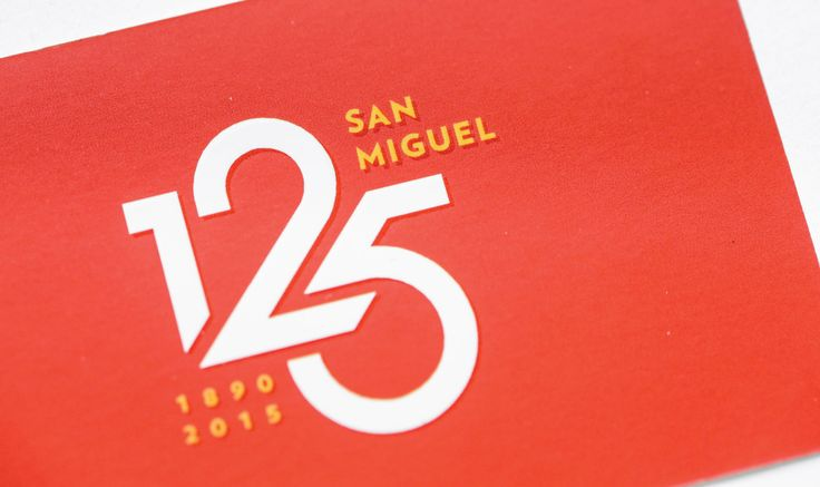 In 1890, San Miguel Corporation began as La Fabrica de Cerveza de San Miguel—a single product brewery—in the San Miguel district of Manila. Today, they stand as the largest beverage, food, and packaging company in Southeast Asia. Last September 2015, SMC celebrated their 125th foundation anniversary.   We designed the SMC 125 logo by keeping the company's history and future in mind. The result is a logo that is both flexible and unobtrusive. We wanted something all their brands could carry…