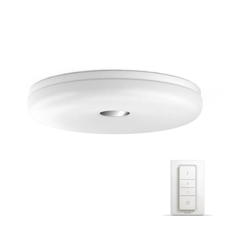 PHILIPS LED-DECKENLEUCHTE, Weiß Jetzt bestellen unter: https://moebel.ladendirekt.de/lampen/deckenleuchten/deckenlampen/?uid=5950bc94-4bfd-5a6c-b540-5f4d63650ddd&utm_source=pinterest&utm_medium=pin&utm_campaign=boards #deckenleuchten #lampen #deckenlampen