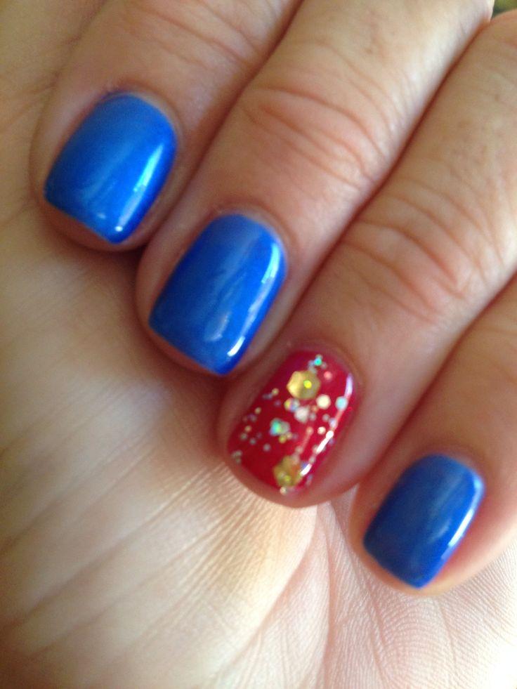 Mejores 65 imágenes de Memorial Day Nail Art en Pinterest | Belleza ...