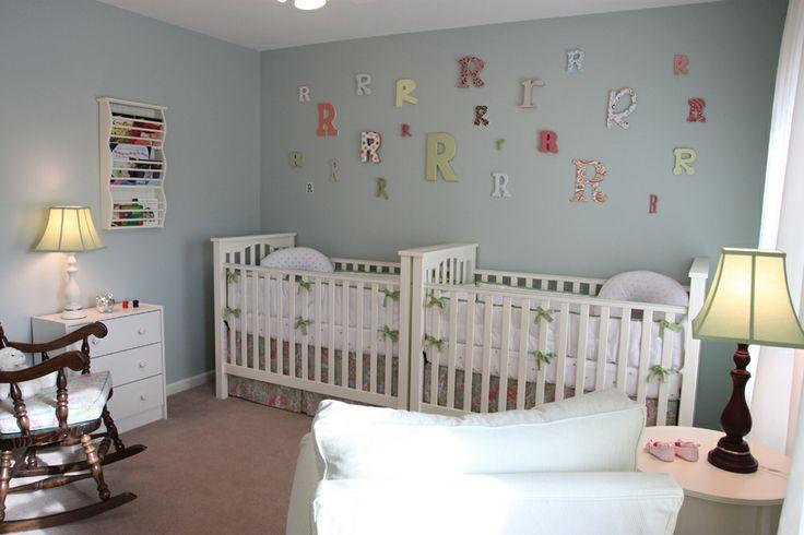"love the paint color! sherwin williams ""rainwashed"" | nursery"