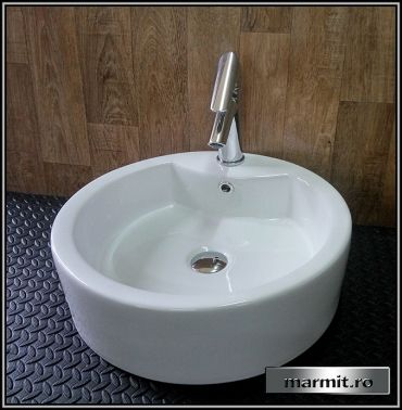 Lavoar rotund pe mobilier Morgan | Marmit - Obiecte sanitare