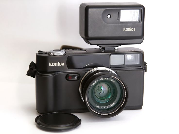 21 years ago Konica released the Hexar, a 35mm fixed lens compact camera. The Hexar is still very loved by the photographers for its image quality and silent shutter. #tbt #throwbackthursday #konica #hexar #film #35mm #retro