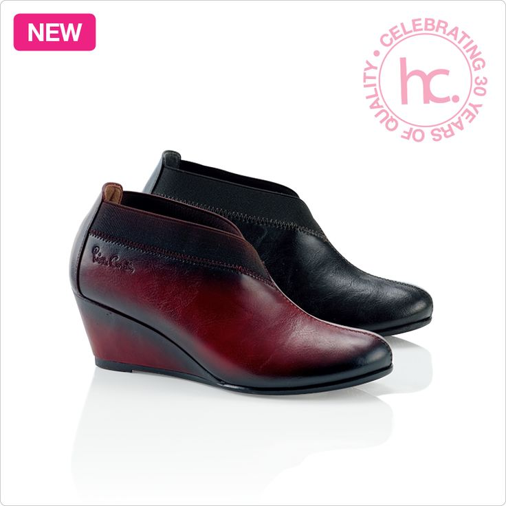 New Marcella ankle boots Sizes: 4 - 8 Available in black and bordeaux From R599 cash or only R76 a month! Shop now >> http://www.homechoice.co.za/Fashion/Shoes/Marcella.aspx