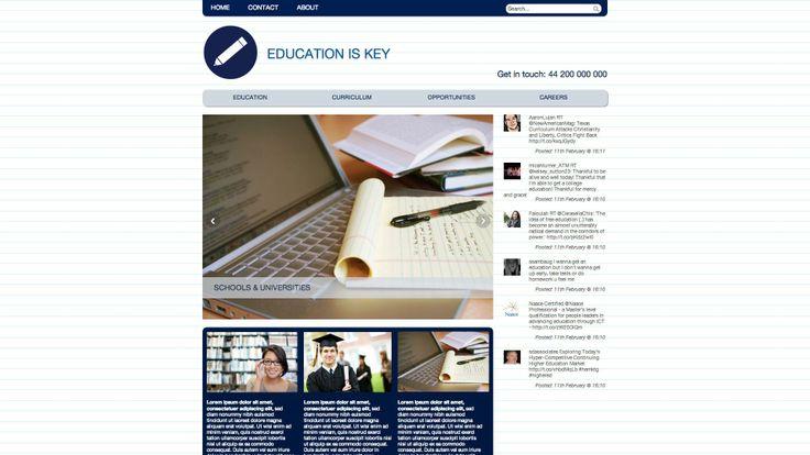 Diseño web para sector educacion,colegios y similares