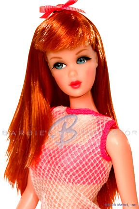 Twist n' Turn redhead.... I traded my number 1 Barbie for this one.... Mattel was smart....