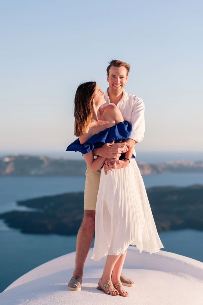Honeymoon in Santorini, Greece. Capture by #Phosart Photography & Cinematography See more www.photographergreece.com