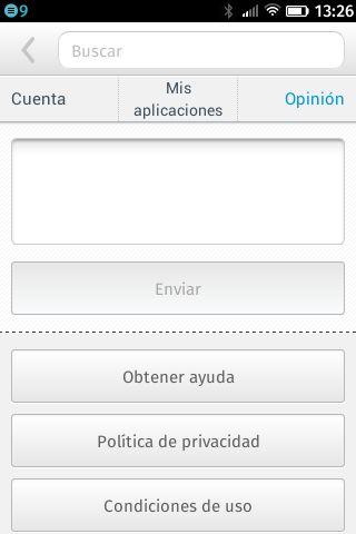 FirefoxOS Marketplace, área para dar opiniones acerca de la tienda #firefoxOSshot