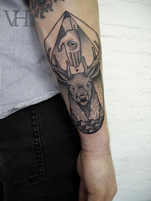 Needle Work in Tattoo