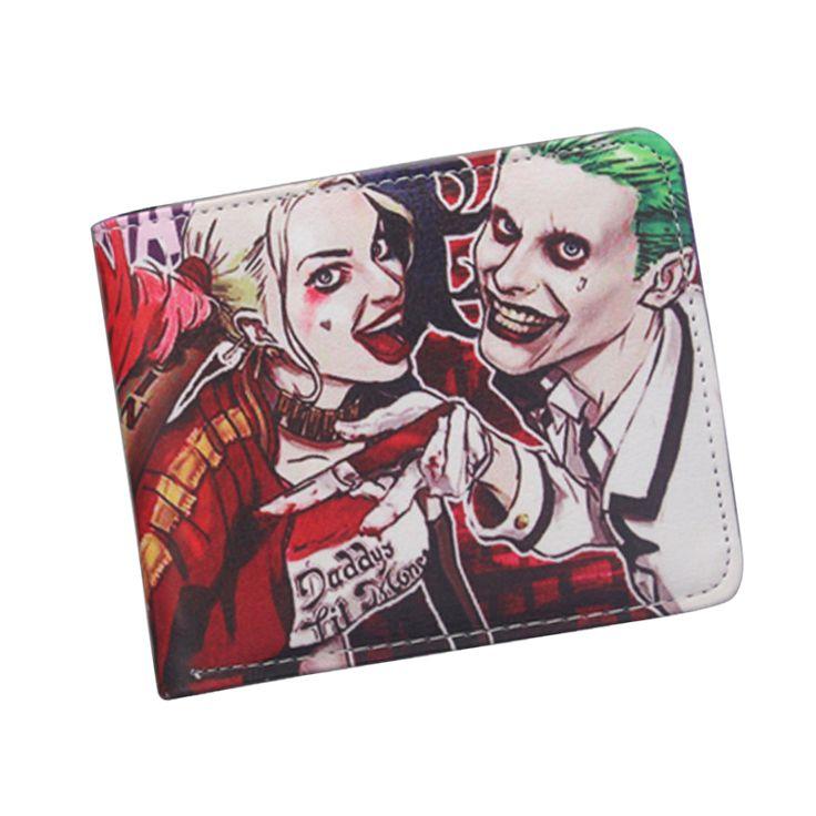 Harley Quinn Joker Wallet //Price: $12.39 & FREE Shipping //     #jaredletojoker #jarley #jokerandharley #dccomics #madlove #thecrazyones #suicidesquad2016