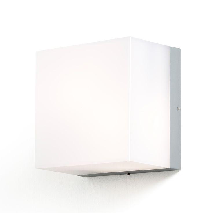 Seinävalaisin 7927-312 Sanremo 210x210x140 mm 2xE27 alumiini/opaali lähikuvassa