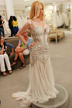 Say Yes To The Dress Autumn Levine Really Super Over Top Expensive Wedding Dresses Pinterest And