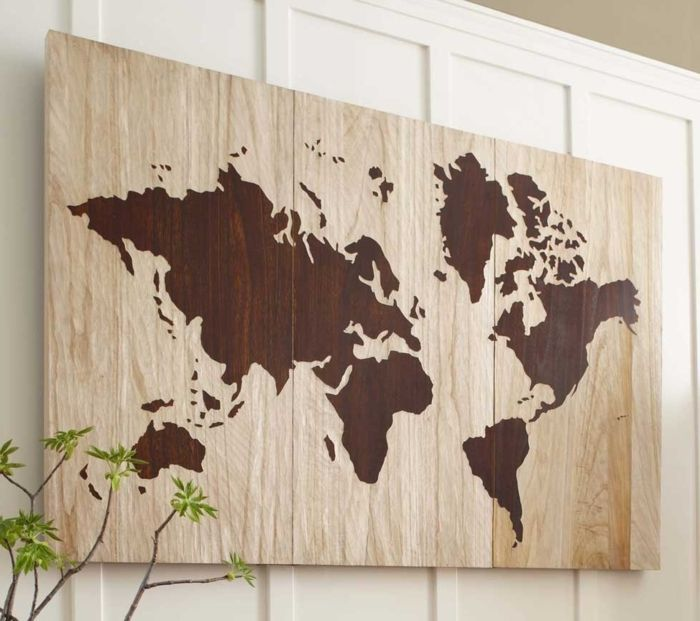 Ideen Wanddeko Selber Machen Holz