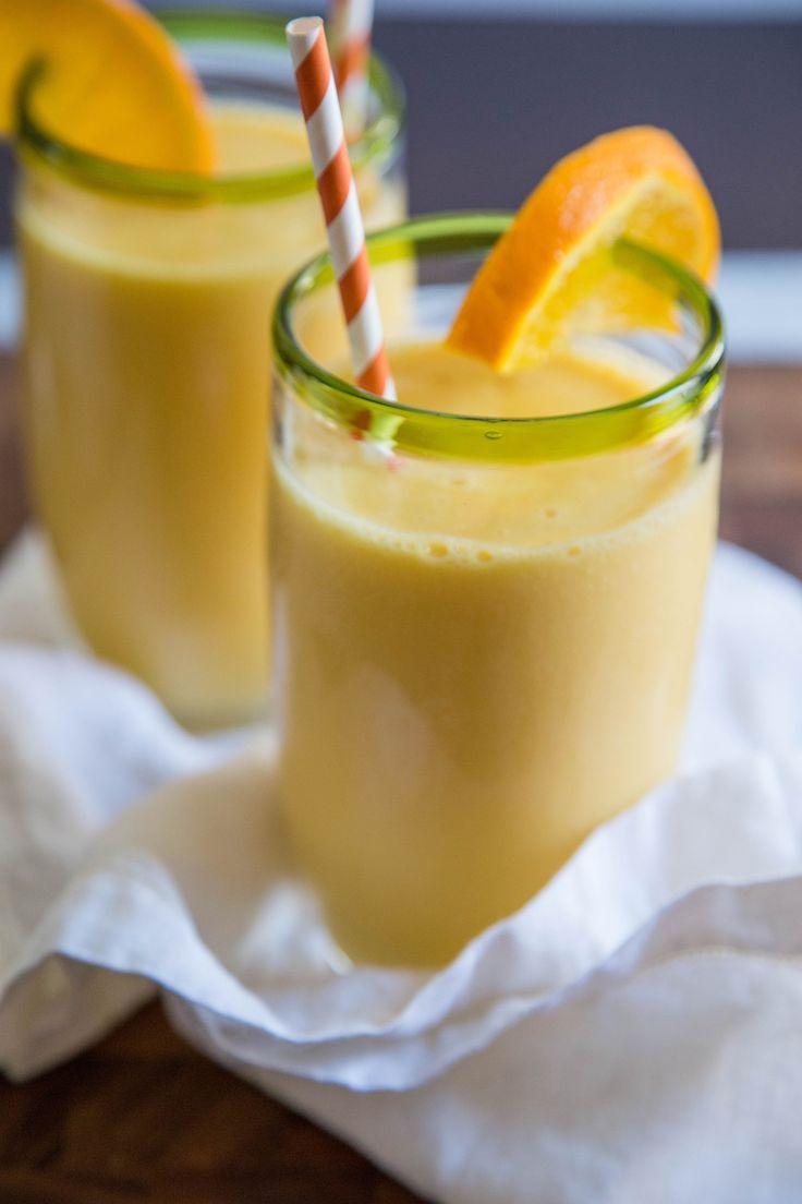 Wie man einen orangefarbenen Julius macht – Kochkurse aus der Küche   – Smoothie Recipes